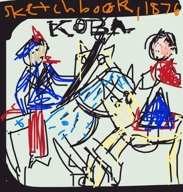 Sketchbook, Koba. Great Plains region, 1876 at @artsmia