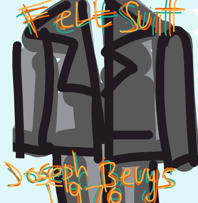 Felt Suit (Filzanzug), Joseph Beuys, 1970 at @MuseumModernArt