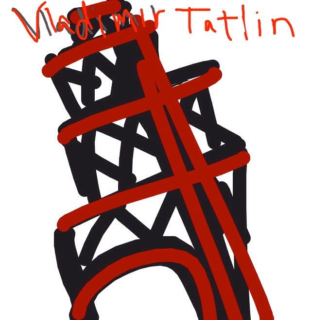 Tatlin's Tower, Vladimir Tatlin's, planned 1917