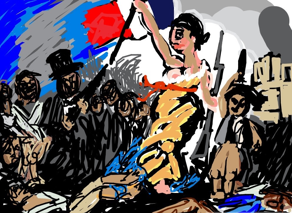 July 28: Liberty Leading the People, Eugène Delacroix, Salon 1831 at @MuseeLouvre