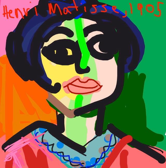 Mme Matisse, Henri Matisse, 1905