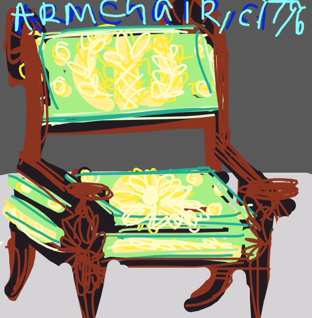 Armchair, Percier, Fontaine & Jacob, c. 1796 at @artsmia