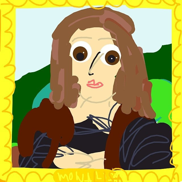Mona Lisa, Leonardo da Vinci, 1503-06 at @MuseeLouvre