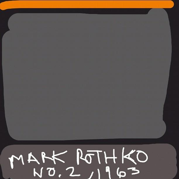 No. 2, Mark Rothko, 1963 at @walkerartcenter