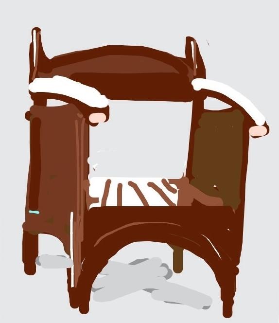 Argyle Tea Room Armchair. Designed by Charles Rennie Mackintosh, 1897 at @cooperhewitt