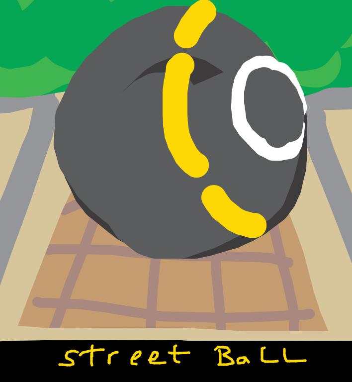 Street Ball, Lars Flack, 1996