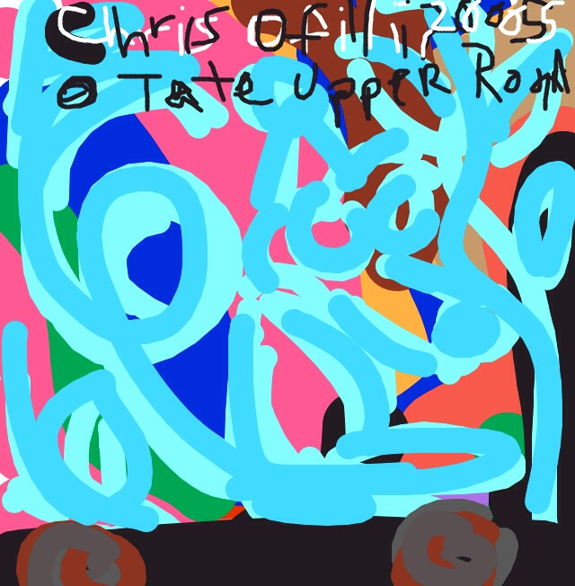 Mono Turquesa, Chris Ofili, 2005 at @Tate