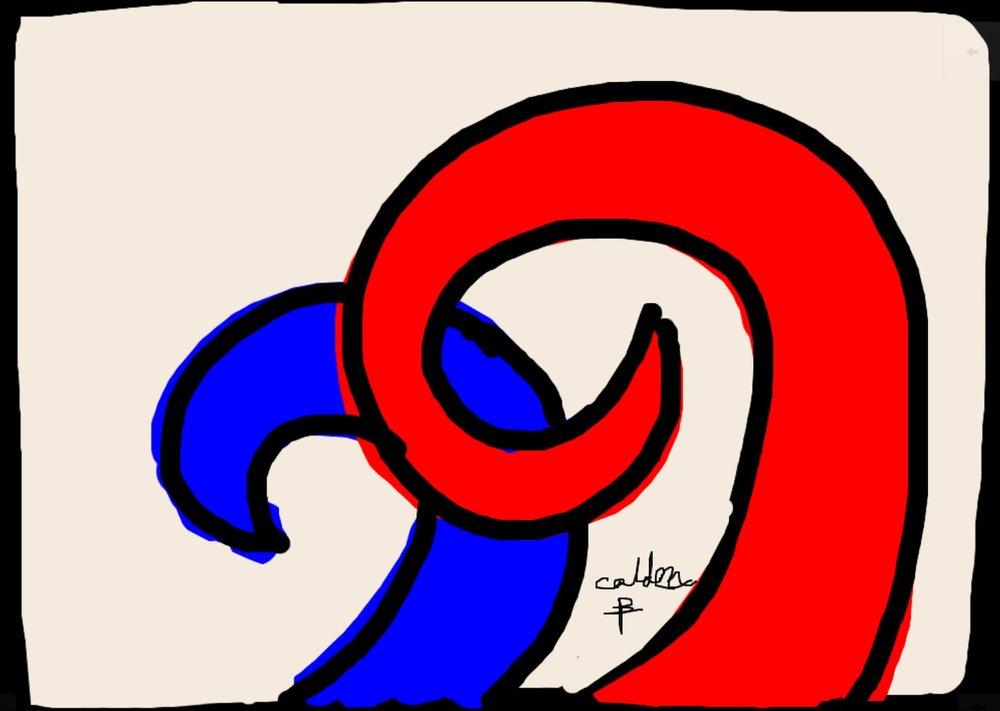 Tapestry I, Alexander Calder at @thehuntingtonlibrary