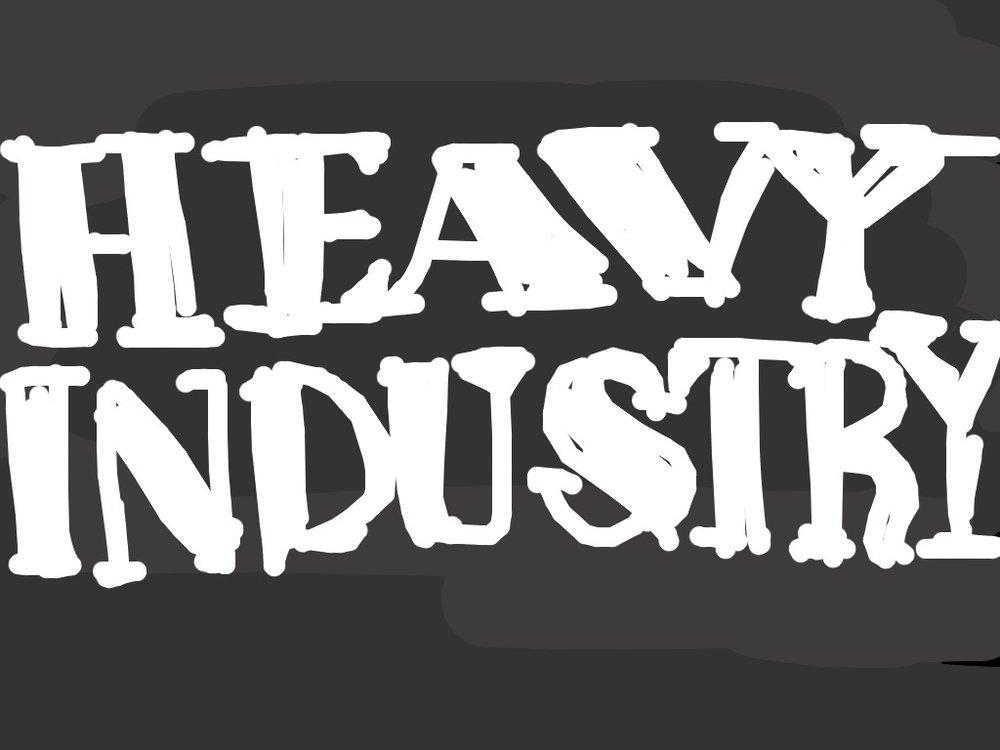 Heavy Industry, Ed Rusha, 1962