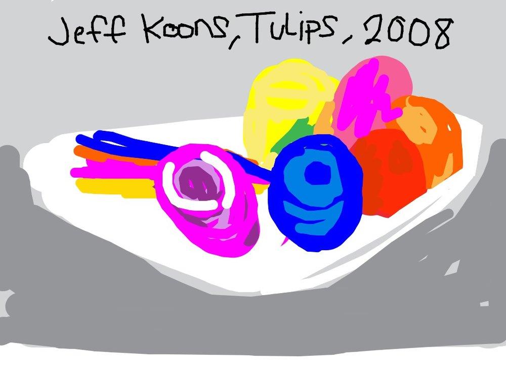 Tulips, Jeff Koons, 1995-2004