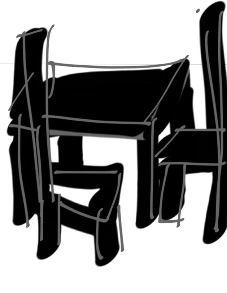 Under the Table, Robert Therrien, 1994