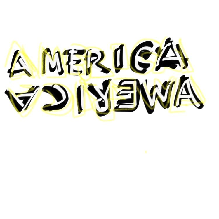 Double America, Glenn Ligon, 2014