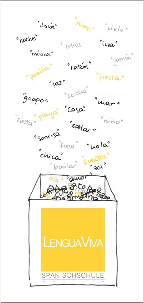 Unser Neuer Flyer Mit Viel Liebe Designt Lenguaviva I