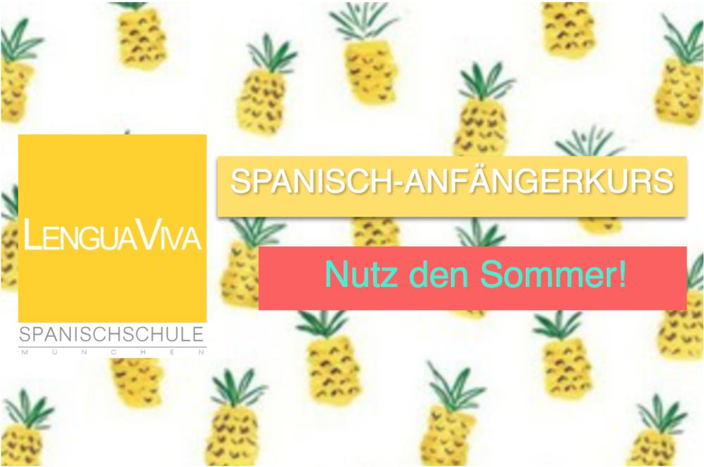 spanischkurs Anfänger