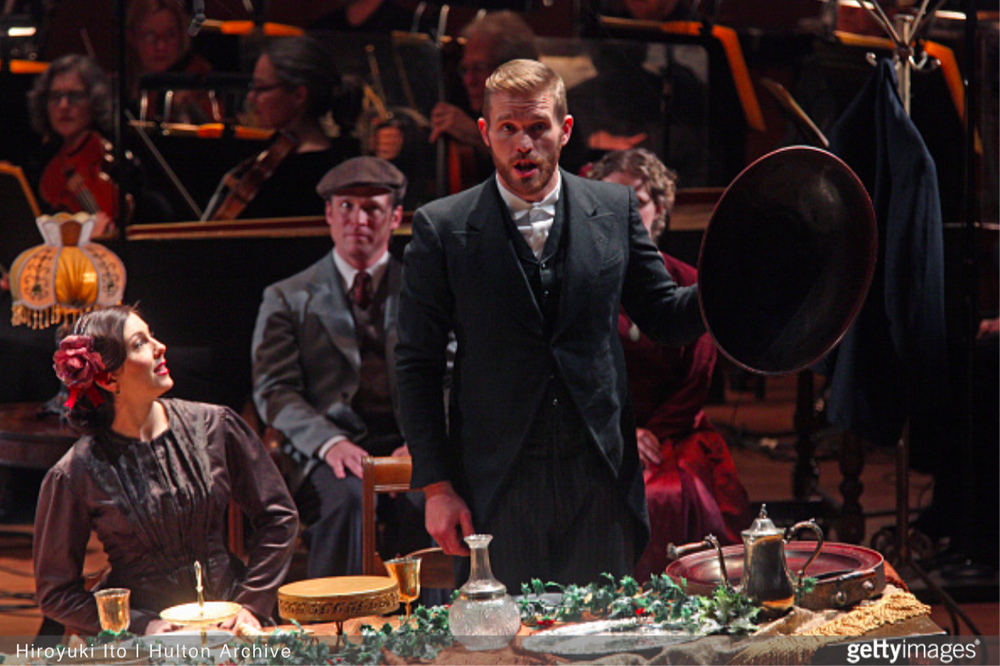 Jarrett as Roderick | The Long Christmas Dinner with The American Symphony Orchestra