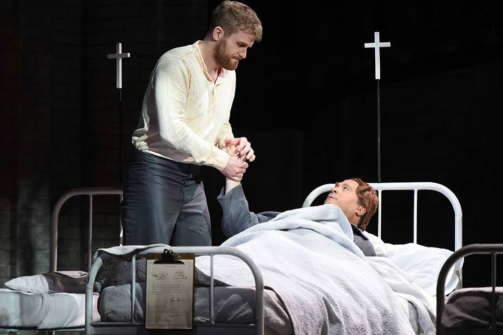 Jarrett as Prisoner Patient | Oscar with Opera Philadelphia