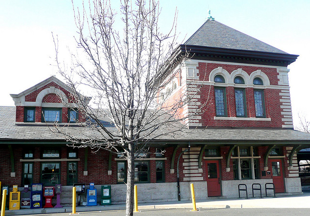 Plainfield Train Station | Built 1902