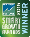 Plainfield's Netherwood TOD Zones won NJFuture's Smart Growth Awards 2015.