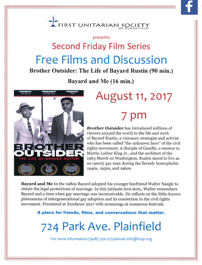 Second Friday Film Series-