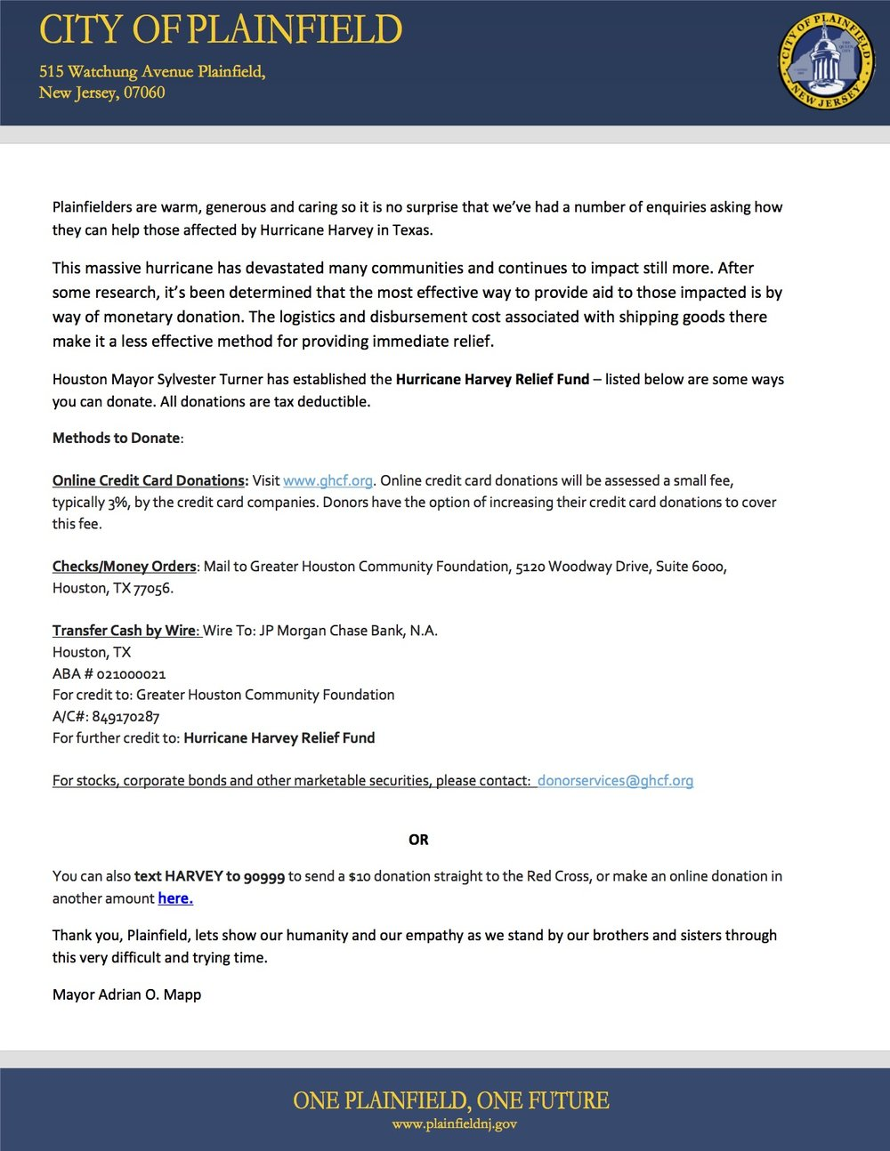 HURRICANE HARVEY RELIEF LETTER.jpg