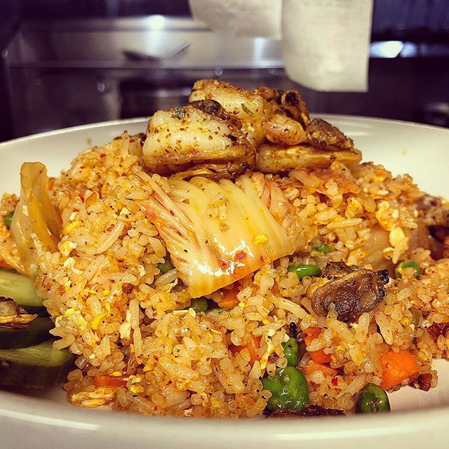 What diet?!? Seafood Kimchi Rice is calling your name! 😁 . . #hirostl #downtownstl #stl #stlfood #stllunch #stldinner #stlfoodie #eats #kimchifriedrice #stlfoodscene #stlouisgram #feastagram