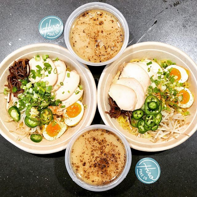 one for YOU, one for ME! 🍜 . . #hiropoke #downtownstl #stl #stllunch #stleats #ramen #feastgram #lunchspot #stlfoodie #stlfood #stlouis