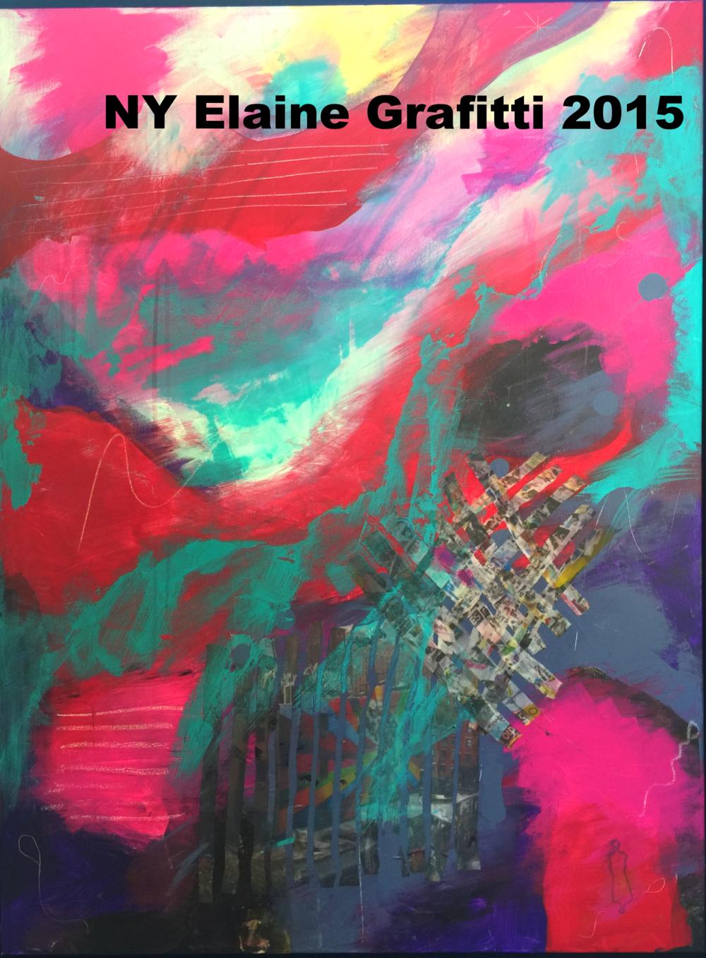 NY Elaine Grafitti 2015