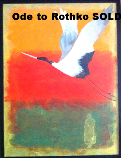 Ode To Rothko - SOLD