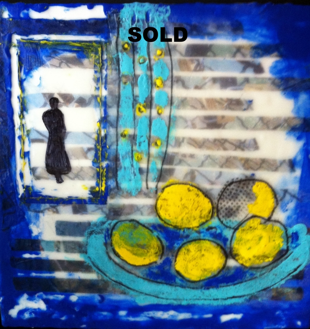 Elaine Still Life II - SOLD