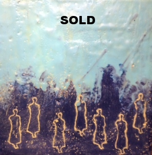 Encaustic - SOLD - Charlottte