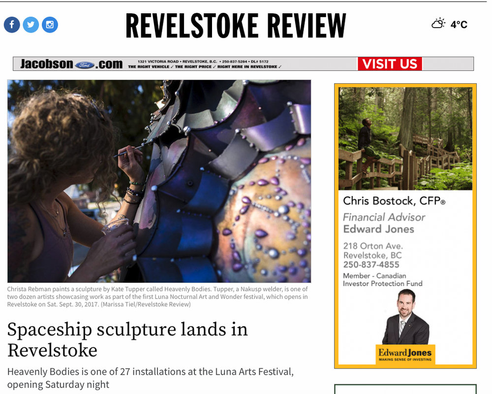 Revelstoke Review online article link below