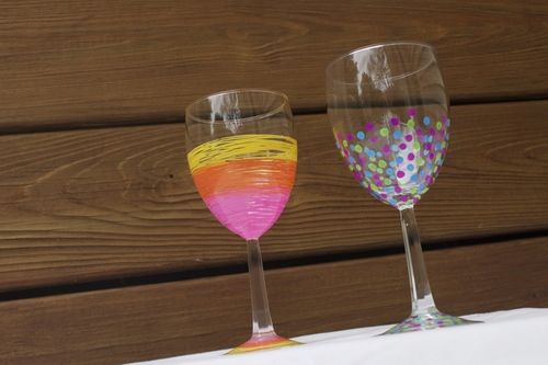 Corks And Crafts - Wine Glasses