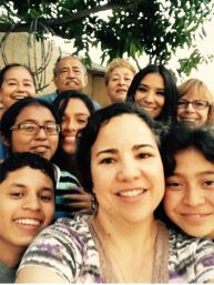 Selfie with St. Joseph's kids,   caregivers, and supporters