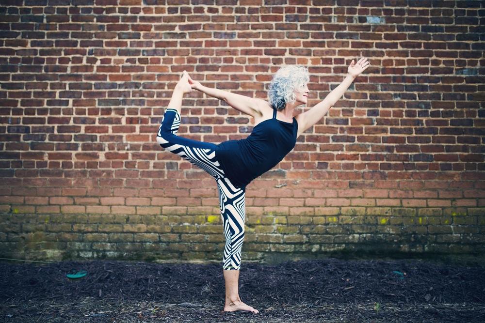 yoga brickwall