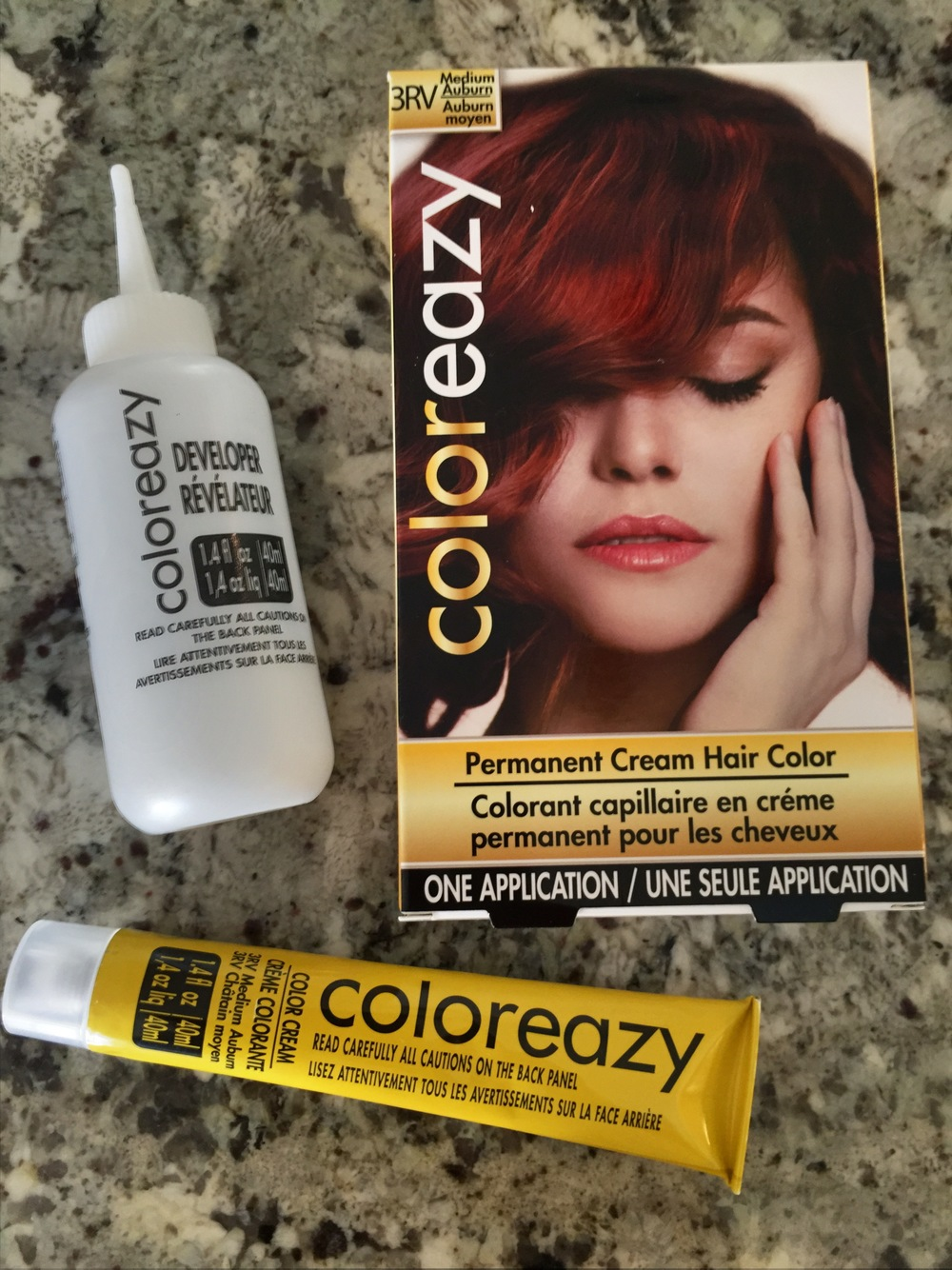 haircolor box