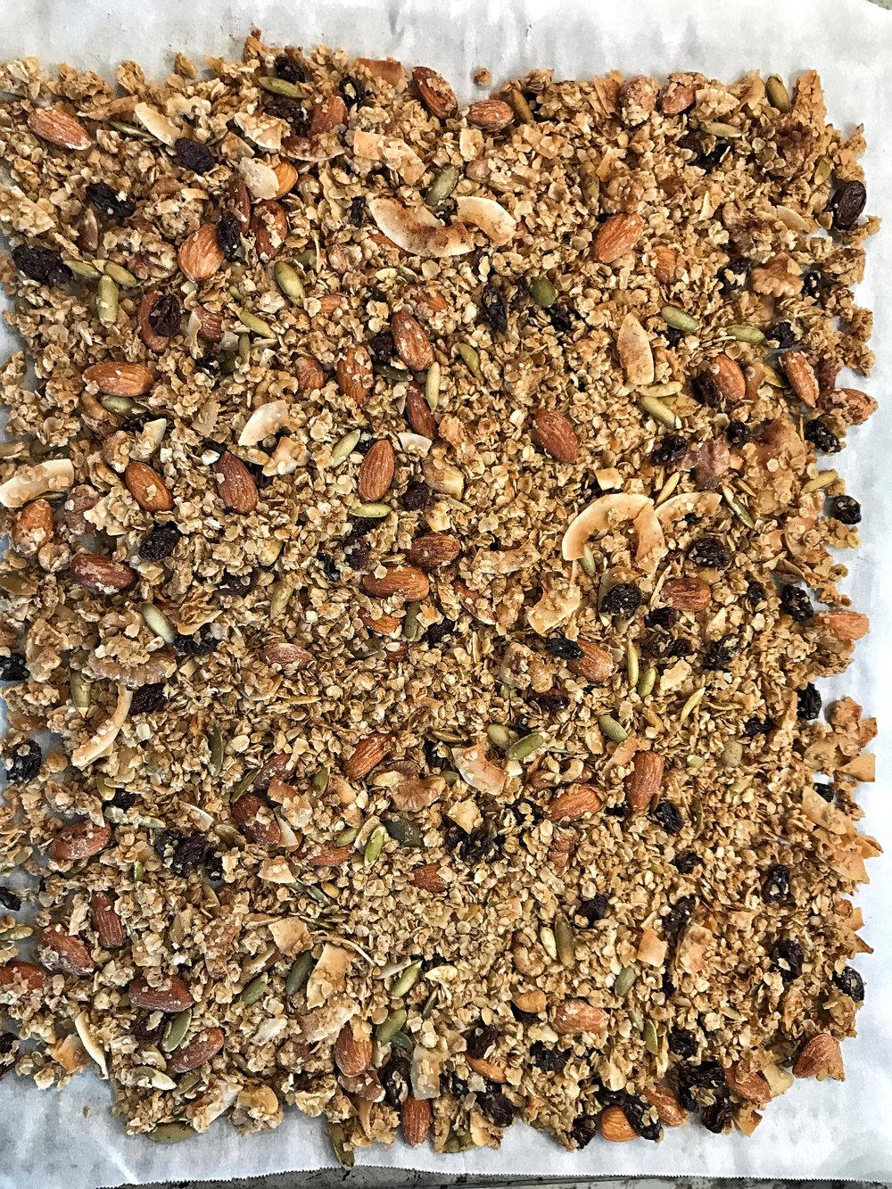 granola sheet