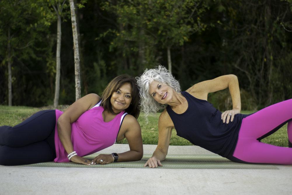 me and Tina