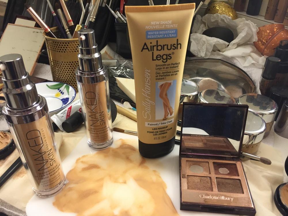 Airbrush Legs Makeup