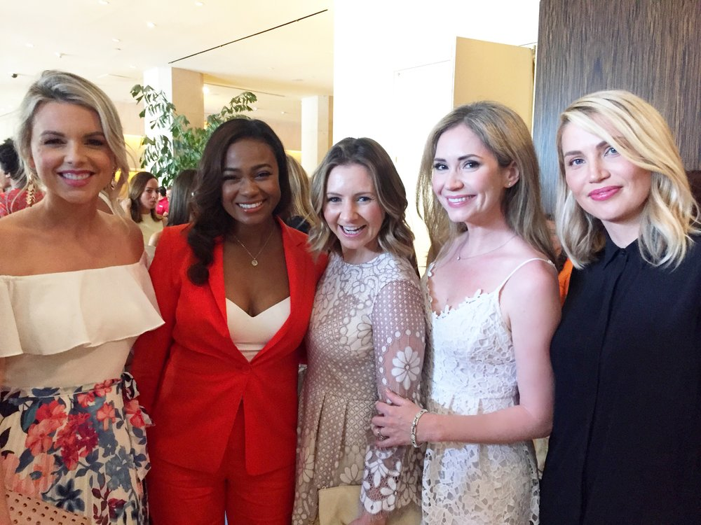 Ali Fedotowsky, Tatyana Ali, Beverley Mitchell and Willa Ford.