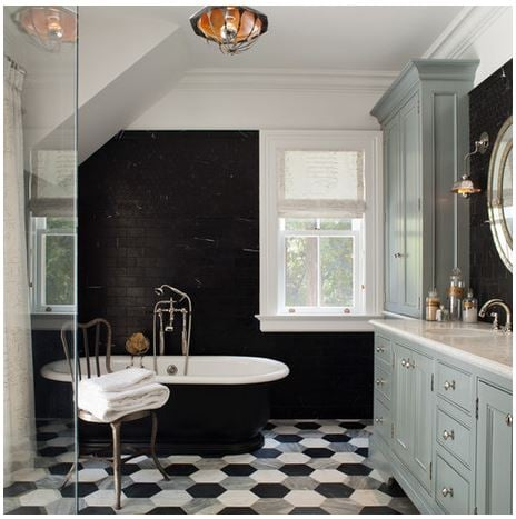 Bathroom by  HSH Interiors