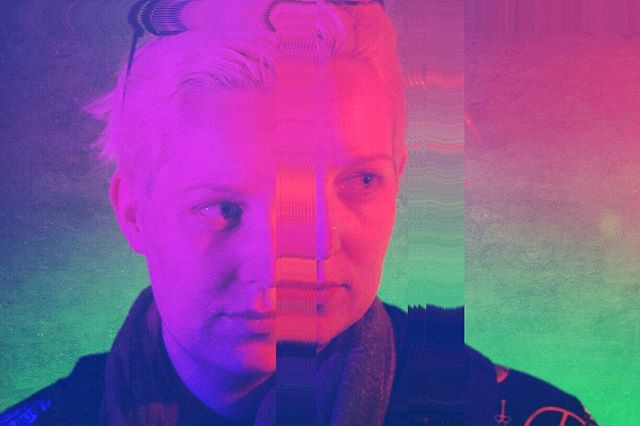 producer tarafawn maen @t_fawn is looking forward to friday night  #popmeetsthevoid #glitch #portrait #trippy #neon #surreal #nyc #indiefilm #independentfilm #film #filmmaker #surreal #reality_manipulation #ig_artistry #greenscreen #bts #onset  see it at the #beautiful #museumofthemovingimage with #qwff2016 -  one night only!