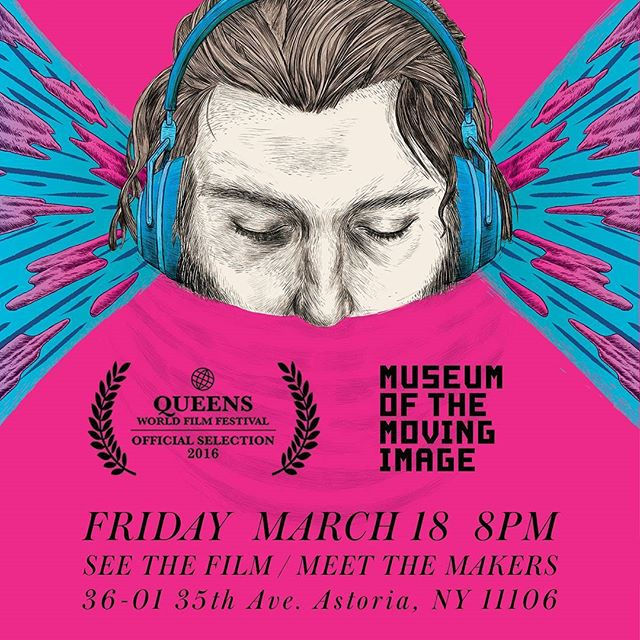 tonight! #popmeetsthevoid nominated for best #film at #qwff2016  see it at the gorgeous #museumofthemovingimage  #music #indiefilm #independentfilm #animation #vfx #surreal #glitch #nyc #comedy