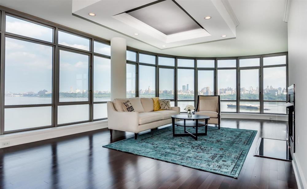 PENTHOUSE LIVING ROOM in NORTH BERGEN, NJ.