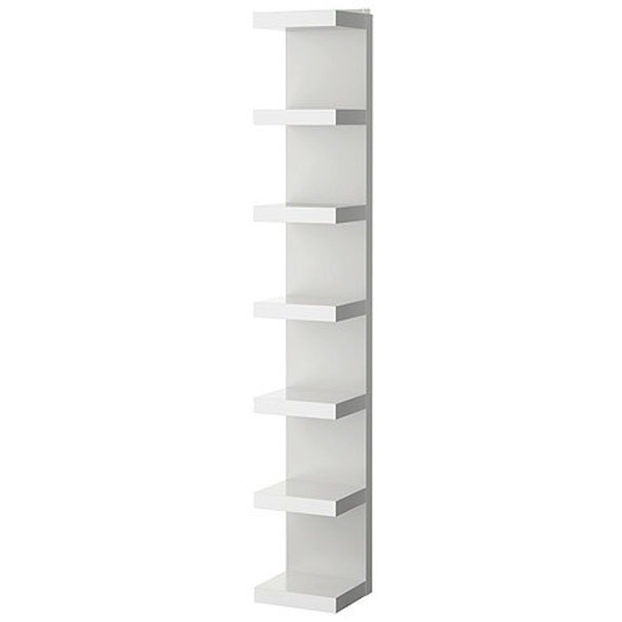 WHITE E-BOOKCASE