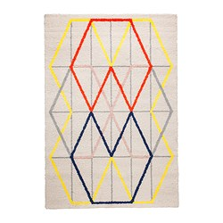MULTICOLORED GEOMETRIC RUG