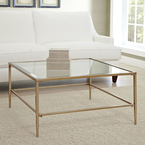 GOLD GLAMOUR COFFEE TABLE