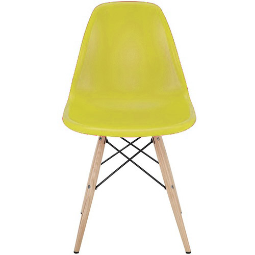 YELLOW PYRAMID CHAIR