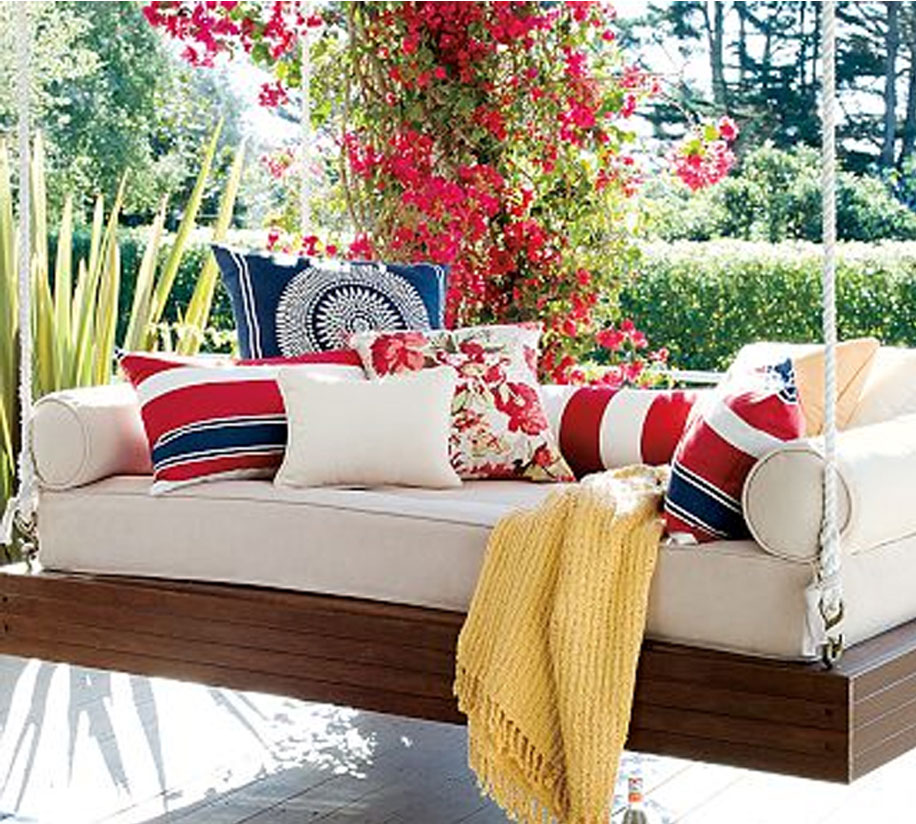 Tip # 2 Pillows, Blankets and plants  -