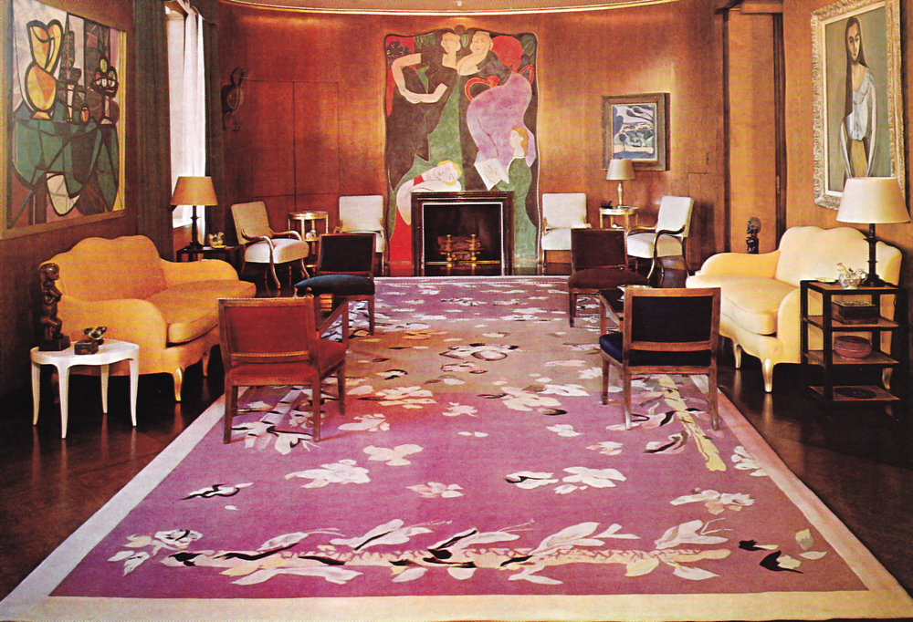 Interiors Nelson Rockefeller And Jean Michel Frank