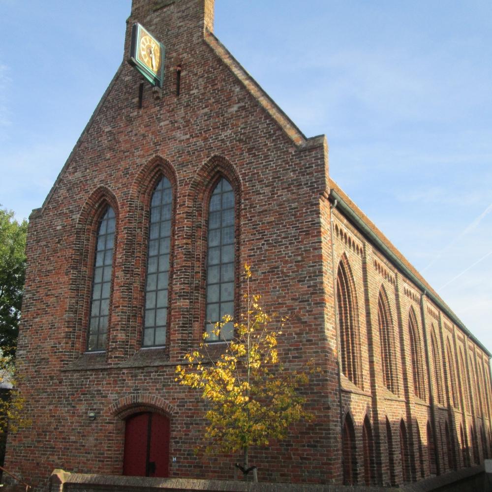 Abdijkerk, Aduard   Bouwjaar:  1300  Bouwstijl: Romaans/gotisch  Bouwtype: Ziekenzaal/Kerk